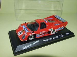 【送料無料】模型車 モデルカー スポーツカー8 leロンドーm379b1981ixo 143 g33rondeau m379b no 8 le mans 1981 ixo 143 g33