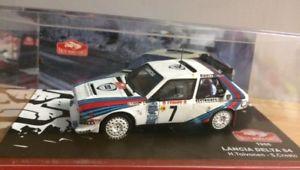【送料無料】模型車 モデルカー スポーツカーランチアデルタs4 143 rallyeモンテcarlo198610lancia delta s4 143 rallye monte carlo 1986 global relay ered10 cars