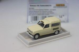 【送料無料】模型車 モデルカー スポーツカーbrekinaルノーr4 fourgonnetteロード14744187brekina renault r4 fourgonnette loads taxi 14744 187