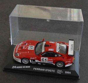 【送料無料】模型車 モデルカー スポーツカーフェラーリルマンネットワークferrari 575 gtc le mans 2004 n 61 ixo 143 g33