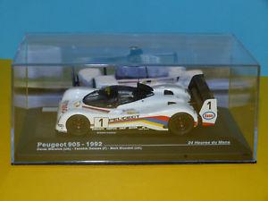 【送料無料】模型車 モデルカー スポーツカー#プジョールマンネットワークpeugeot 905 1992 1 24h du mans 143 ixoneuve en boite g
