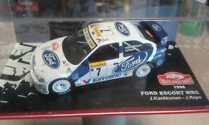 【送料無料】模型車 モデルカー スポーツカー143エスコートwrc kankkunenモンテcarlo1998j143 ford escort wrc kankkunen monte carlo 1998 j