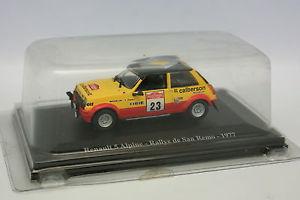【送料無料】模型車 モデルカー スポーツカールノーアルパインラリーサンレモボックスrenault 5 alpine rally san remo 1977 eligor 143 in box g21
