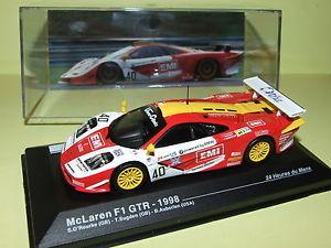 【送料無料】模型車 モデルカー スポーツカー40 leマクラーレンf1 gtr1998ixo 143 i107mclaren f1 gtr n 40 le mans 1998 ixo 143 i107