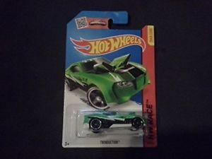 【送料無料】模型車 モデルカー スポーツカー176250ホットホイールズ2015hwレースtwinductioncfl15hot wheels 2015 hw race twinduction green 176250 cfl15