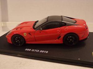 【送料無料】模型車 モデルカー スポーツカーグアテマラgt collectionferrari 599 gto 2010