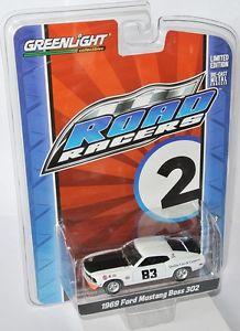 【送料無料】模型車 モデルカー スポーツカーroad racers 1969ムスタング30283アルコストナー164greenlight road racers 1969 ford mustang boss 302 83 al costner 164