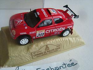 【送料無料】模型車 モデルカー スポーツカーシトロエンzxパリダカールplexi1996143norev citroen zx rally raid paris dakar rally year 1996 143 norev box of plexi
