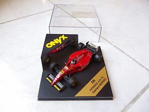 【送料無料】模型車 モデルカー スポーツカーフェラーリ412 t2 gerhard berger28シマメノウ238143f11 1995ferrari 412 t2 gerhard berger 28 onyx 238 143 f1 formula 1 1995
