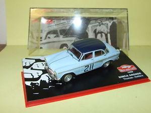 【送料無料】模型車 モデルカー スポーツカートーマスモンテカルロラリーネットワークsimca dove thomas rallye monte carlo 1959 ixo 143 g85