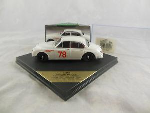 【送料無料】模型車 モデルカー スポーツカージャガーツアードフランスレーシングボックスvitesse jaguar l191a mkii 38 1960 tour de france white racing no 78 box