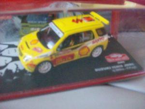 【送料無料】模型車 モデルカー スポーツカーモンテカルロラリーネットワークsuzuki ignis wrc rallye monte carlo 2005 ixo 143
