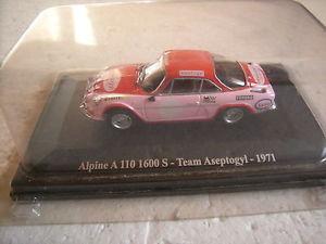 【送料無料】模型車 モデルカー スポーツカー143renault1101600s aseptogyl 1971チーム143 renault alpine a 110 1600 s aseptogyl 1971 team