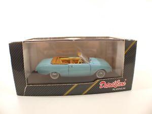 【送料無料】模型車 モデルカー スポーツカーアートフォードカブリオボックスdetail cars art183 * ford taunus badew 1960 cabrio * 143 boxedmib box