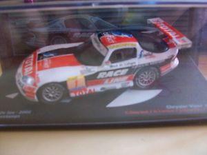 【送料無料】模型車 モデルカー スポーツカークライスラーバイパースパボーデchrysler viper gts r 24 hours of spa 2002 bourdais 143 b7