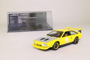 【送料無料】模型車 モデルカー スポーツカーボックスランボルギーニハラマラリーwhite box wb503; 1973 lamborghini jarama rally; yellow; very good boxed