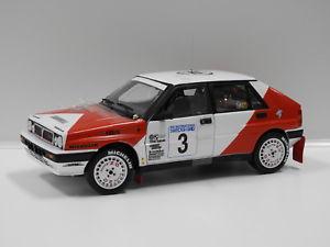【送料無料】模型車 モデルカー スポーツカー118ランチアデルタintegrale スウェーデン1989mericssoncbillstam3 su118 lancia delta integrale swedish rally 1989 mericsson amp; cbillst