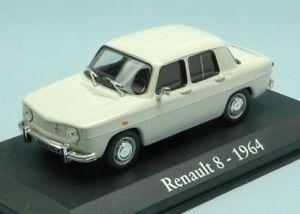 【送料無料】模型車 モデルカー スポーツカーモデルルノーホワイトモデルjm 2145847 model edi012 renault 8 1964 white 143 model