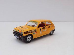 【送料無料】模型車 モデルカー スポーツカールノーアルパインミントsolido renault 5tl alpine very near mint unboxed 143