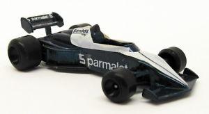 【送料無料】模型車 モデルカー スポーツカースケールモデルカーブラバムレーシングカーpolistil 155 scale model car 18618 f1 brabham racing car blue