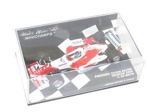 【送料無料】模型車 モデルカー スポーツカーパナソニックトヨタレーシングシーズンダマッタ143 panasonic toyota racing tf104  season 2004 showcar  cda matta