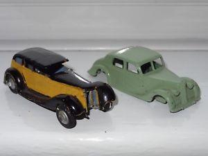【送料無料】模型車 モデルカー スポーツカーライリーg dinky riley amp; vauhall for restoration 30d