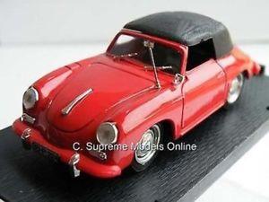 【送料無料】模型車 モデルカー スポーツカーポルシェカブリオレスケールミントporsche 356c cabriolet car red 143rd scale mint boxed