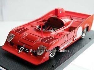 【送料無料】模型車 モデルカー スポーツカーアルファロメオレースカースケールミントクラシックスポーツモデルalfa romeo 33tt12 racing car 143rd scale mint boxed classic sports model *