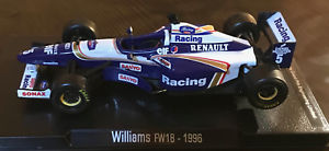 【送料無料】模型車 モデルカー スポーツカーフォーミュラウィリアムズルノーデイモンヒルスケールformula 1 f1 williams fw18 renault damon hill 143 scale uk free post