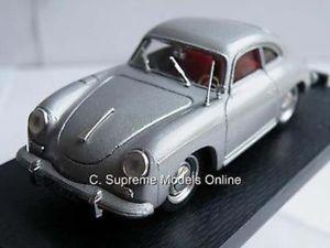 【送料無料】模型車 モデルカー スポーツカーポルシェクーペスポーツカーシルバーカラーバージョンporsche 356c coupe sports car 143rd scale silver colour version k204