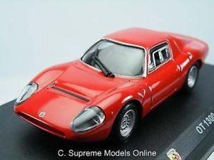 【送料無料】模型車 モデルカー スポーツカーフィアットアバルトサイズレッドモデルダークfiat abarth 1965 ot 1300 143rd size car red model dark interior type y0675j^*^