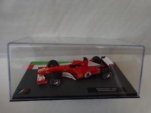 【送料無料】模型車 モデルカー スポーツカーフォーミュラカーコレクションフェラーリミハエルシューマッハ#143 f1 formula 1 car collection ferrari f2002 michael schumacher 2002 car 6