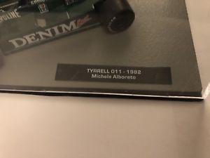 【送料無料】模型車 モデルカー スポーツカーフォーミュラカーコレクションティレルミケーレアルボレートf1 formula 1 car collection tyrrell 011 michele alboreto 1982