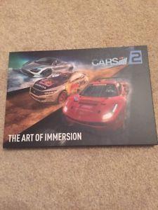 【送料無料】模型車 モデルカー スポーツカープロジェクトアートブックアートproject cars 2 limited edition art book the art of immersion