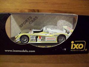 【送料無料】模型車 モデルカー スポーツカーネットワークアウディキロスパクリステンセン143 ixo gtm017 audi r8 winner 1000km spa 2003 saratkristensen