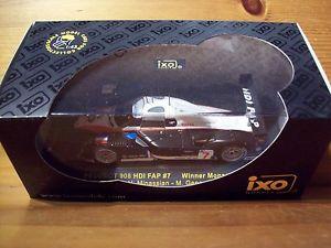 【送料無料】模型車 モデルカー スポーツカーネットワークプジョー#モンツァ143 ixo gtm062 peugeot 908 hdi fap 7 nminassianmgene winner monza 2007