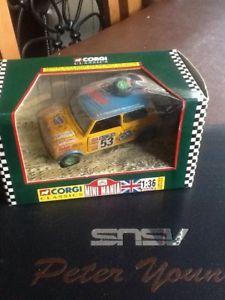 【送料無料】模型車 モデルカー スポーツカーコーギーケニアサファリラリーミニミントcorgi toys no 04411 kenya safari rally mini weathered mint boxed made 1997