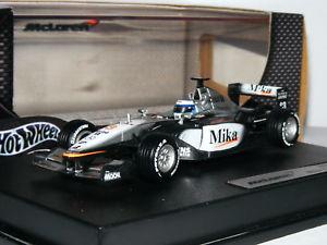 【送料無料】模型車 モデルカー スポーツカーホットホイールレーシングマクラーレンメルセデスミカハッキネンhot wheels racing 50209 mclaren mercedes mp416 mika hakkinen 143