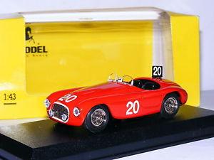 【送料無料】模型車 モデルカー スポーツカーアートモデルアートフェラーリバルケッタスパ#art model art024 ferrari 166 mm barchetta 1949 spa 24 hours 20 143