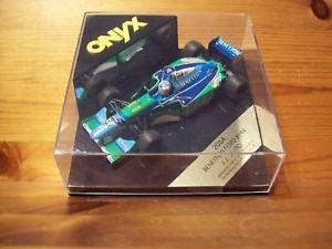【送料無料】模型車 モデルカー スポーツカーオニキスベネトンフォード143 onyx 205a benetton ford b194 jj lehto 1994