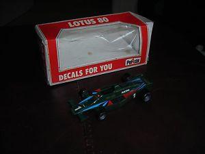 【送料無料】模型車 モデルカー スポーツカーロータスボックスモデルpolistil lotus 80 141 boxed model