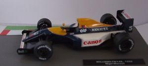 【送料無料】模型車 モデルカー スポーツカーフォーミュラカーコレクションウィリアムズナイジェルマンセルf1 formula 1 car collection 4 1992 williams fw14b nigel mansell