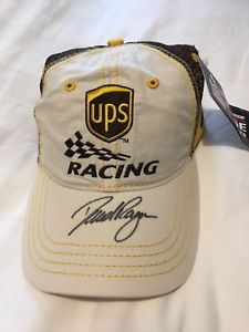 【送料無料】模型車 モデルカー スポーツカーサインデビッドautographed david ragan ups hat