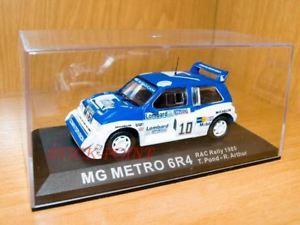 【送料無料】模型車 モデルカー スポーツカーラリーアーサー#mg metro 6r4 rac rally 1985 143 tpondrarthur10