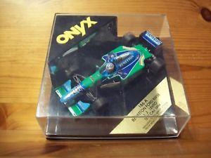 【送料無料】模型車 モデルカー スポーツカーオニキスベネトンフォード143 onyx 186a benetton ford b193b jj lehto testcar 1994