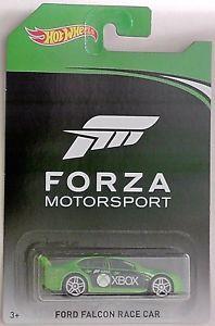 【送料無料】模型車 モデルカー スポーツカーホットホイールフォードファルコンレースカーフォルツァモータースポーツチェイスhot wheels ford falcon race car forza motorsport 2017 chase car