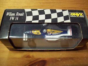 【送料無料】模型車 モデルカー スポーツカーオニキスウィリアムズルノーリッカルドルノーボックス143 onyx 120 williams renault fw14 riccardo patrese 1991 renault box