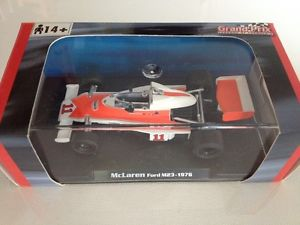 【送料無料】模型車 モデルカー スポーツカージェームスハントマクラーレンフォードmスケールアトラスエディションモデル1976 james hunt mclaren ford m23 143 scale rba atlas editions f1 model