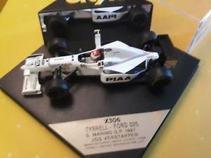 【送料無料】模型車 モデルカー スポーツカーオニキス×フォードタイレルスケールvery rare  onyx x306s verstappen ford tyrell 025 1997 no18 scale 143