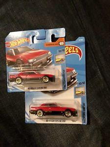 【送料無料】模型車 モデルカー スポーツカーホットホイールカードhot wheels nissan r30 gtr long and short card